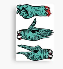Run The Jewels - Rock, Paper, Scissors Canvas Print