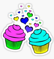 For The Love Of Cupcakes No. 2 Sticker