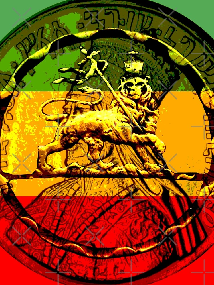 Rasta Lion of Judah by rastaseed