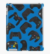 Video game controller background Gadgets seamless pattern iPad Case/Skin