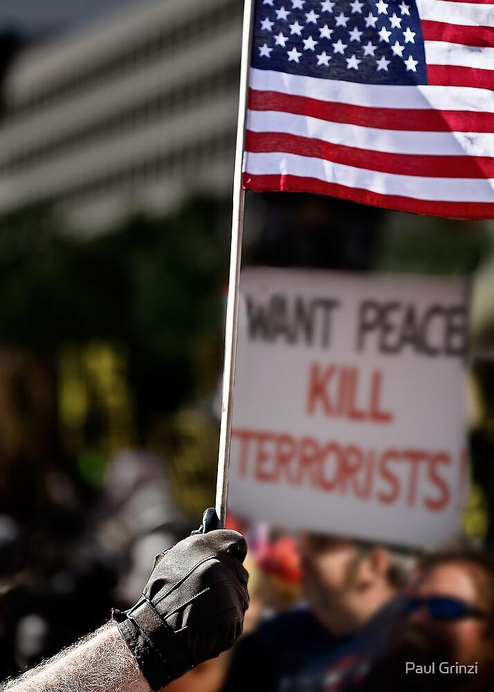 Want peace? by Paul Grinzi