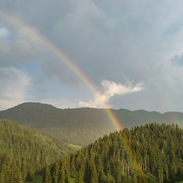 Summer Storms and Rainbows - Rhodope Mountain Range in Bulgaria by GeorgiaM