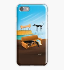 Greylvador Dali iPhone Case/Skin