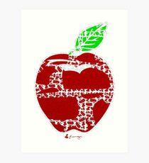 Keinage - Fruit Paradise - Apple Art Print
