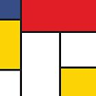 In the Style of Mondrian by EvilGravy