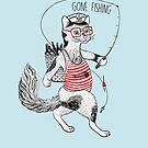 «Gato ido a pescar» de Ruta Dumalakaite