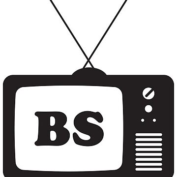 TV is BS Sticker by AndrewHart