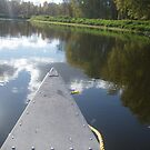 Canoe on the Mississippii by cap10mike