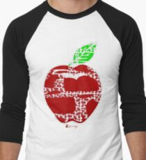 Keinage - Fruit Paradise - Apple Men's Baseball ¾ T-Shirt