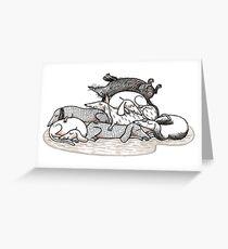 Dackel - Teckel - Dachshund - Sausage Dog Greeting Card