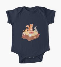 woodland animal round the picnic table Kids Clothes
