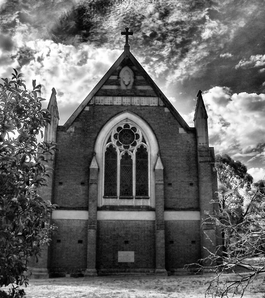 St Mary's Church Inglewood by Rachael Taylor