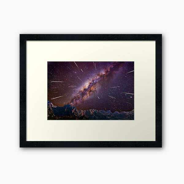 Kaboom Framed Art Print