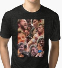 kenny omega collage Tri-blend T-Shirt