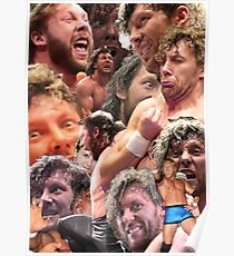 kenny omega collage Poster