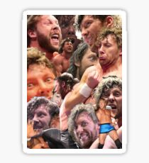 kenny omega collage Sticker