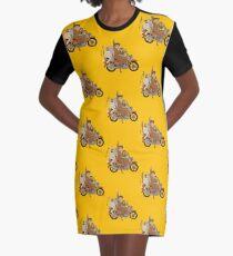 Fantastisches Herr Motorrad T-Shirt Kleid