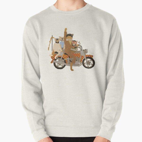 Fantastic Mr Motorcycle  Pullover Sweatshirt