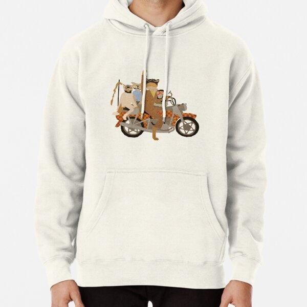 Fantástico Sr. Motocicleta Sudadera con capucha