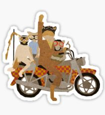 Fantastic Mr Motorcycle  Sticker