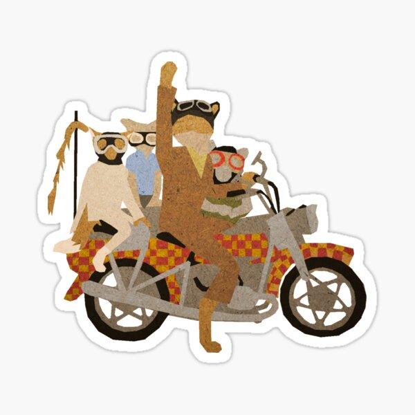 Fantastic Mr Motorcycle  Sticker