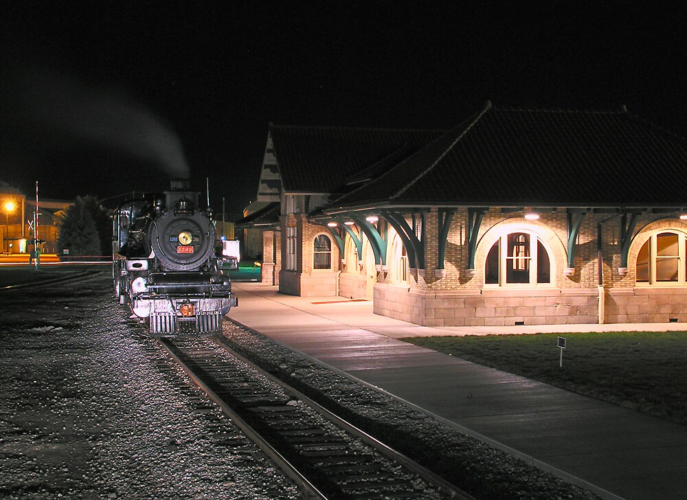 Train & Depot by MClementReilly