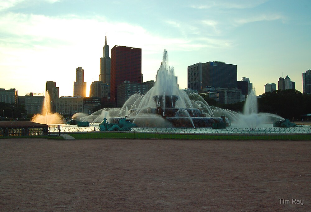 Buckingham Fountain by Tim Ray