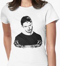 Bones V2 Women's Fitted T-Shirt