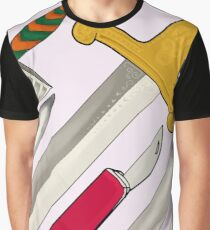 Sharp! in soft pink Graphic T-Shirt