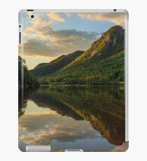 Eagle Cliff from Profile Lake, Franconia Notch State Park, New Hampshire iPad Case/Skin