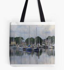 Wickford Harbor Tote Bag