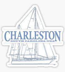 Charleston South Carolina Sticker