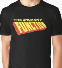 The Uncanny Function - Red Graphic T-Shirt