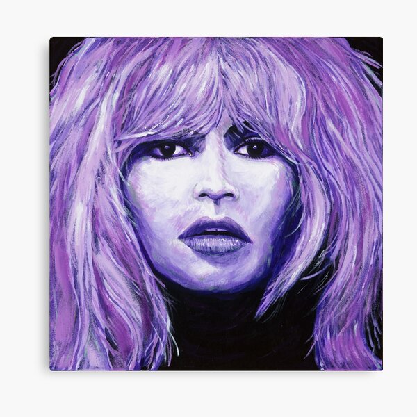 Purple Girl Impression sur toile
