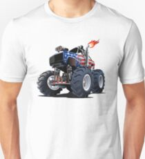 Cartoon Monster Truck T-Shirt