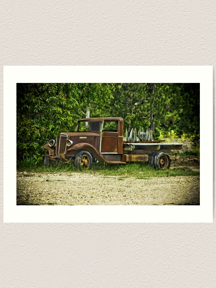 Alternate view of Keep on Trucking. Art Print