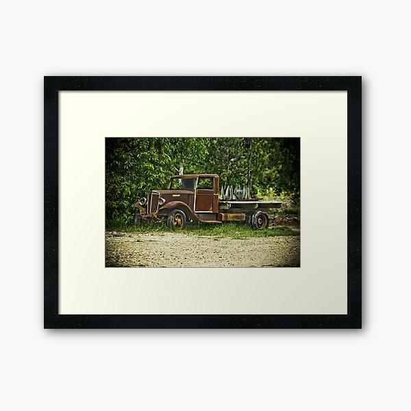 Keep on Trucking. Framed Art Print