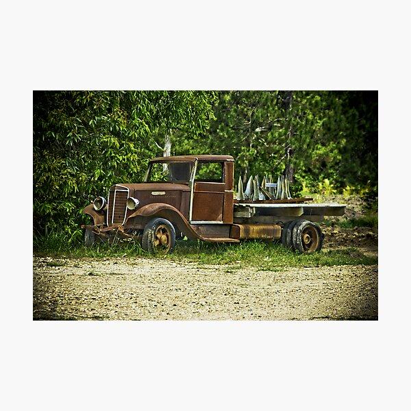 Keep on Trucking. Photographic Print