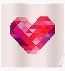 Prism Heart Poster