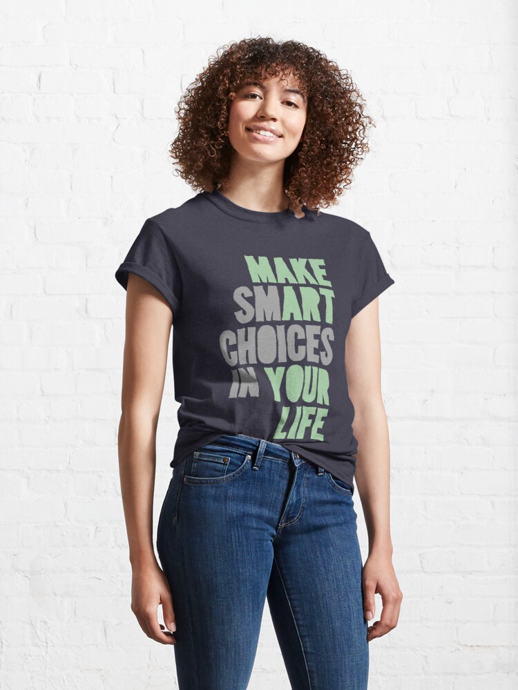 Alternate view of Make Art Your Life Classic T-Shirt