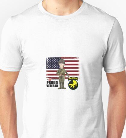 17th Airborne Division- Proud Veteran T-Shirt