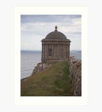 Mussenden Temple of the Winds Art Print