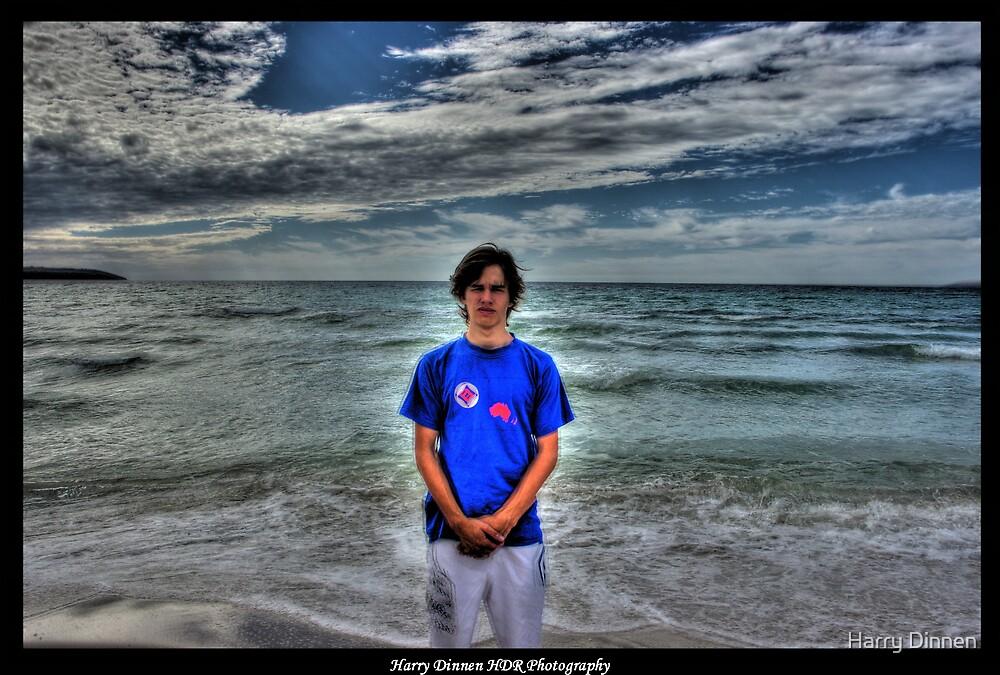 Island Beach, Kangaroo Island - Me In HDR by Harry Dinnen