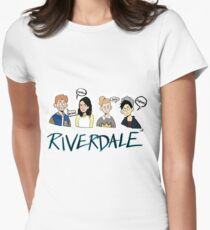 Riverdale Comic Characers Women's Fitted T-Shirt