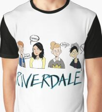 Riverdale Comic Characers Graphic T-Shirt