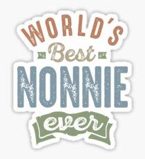 Best Nonnie  Sticker