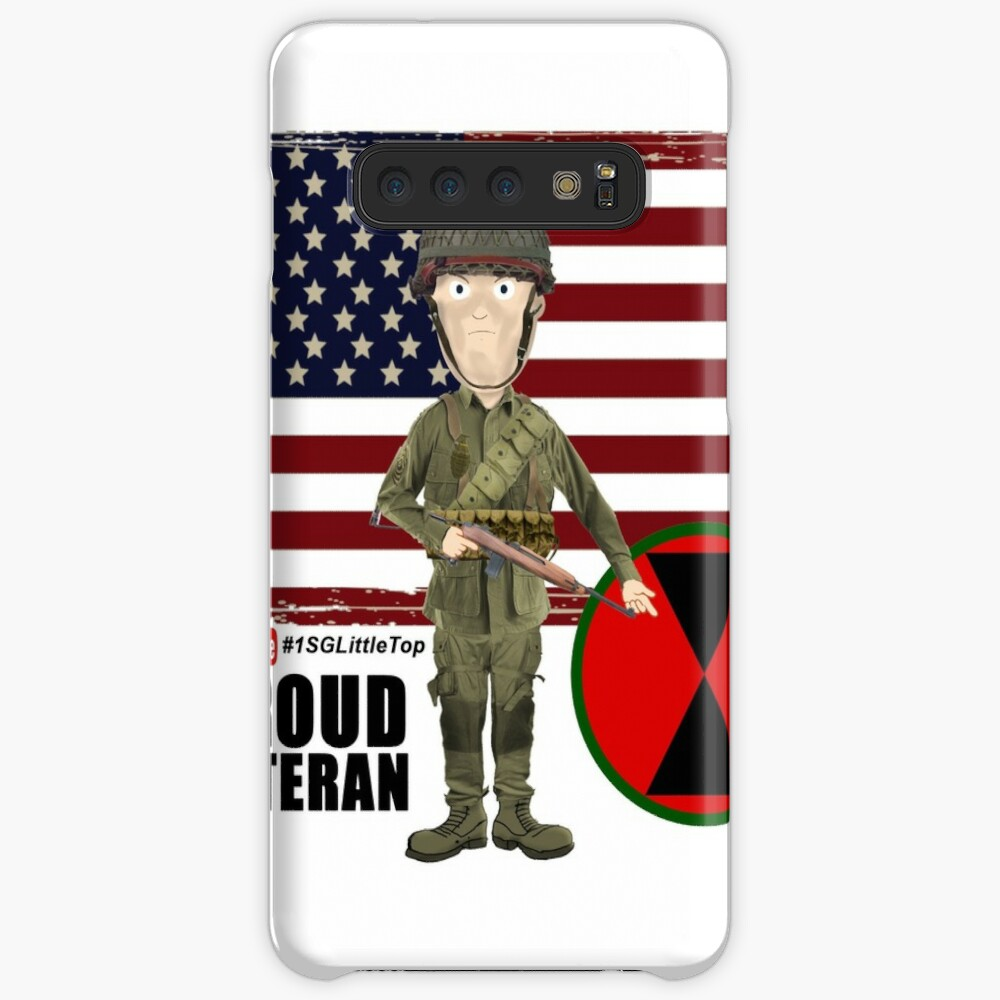 7th ID WW2- Proud Veteran Case & Skin for Samsung Galaxy