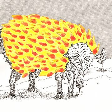 Giant Ruminant by ChrisiS