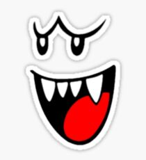 Boo Face Sticker