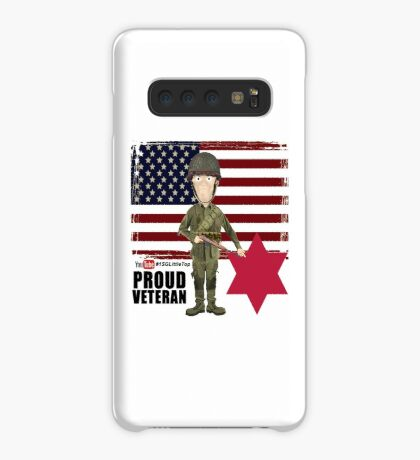 6th Infantry Division- Proud Veteran Case/Skin for Samsung Galaxy